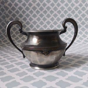 Vintage Superior Silver Plate Sugar Bowl